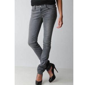 J brand Low Rise Pencil Leg Gray Skinny Jeans | 27